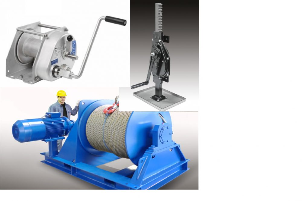 Haacon winches and lifting Jacks and handwinches