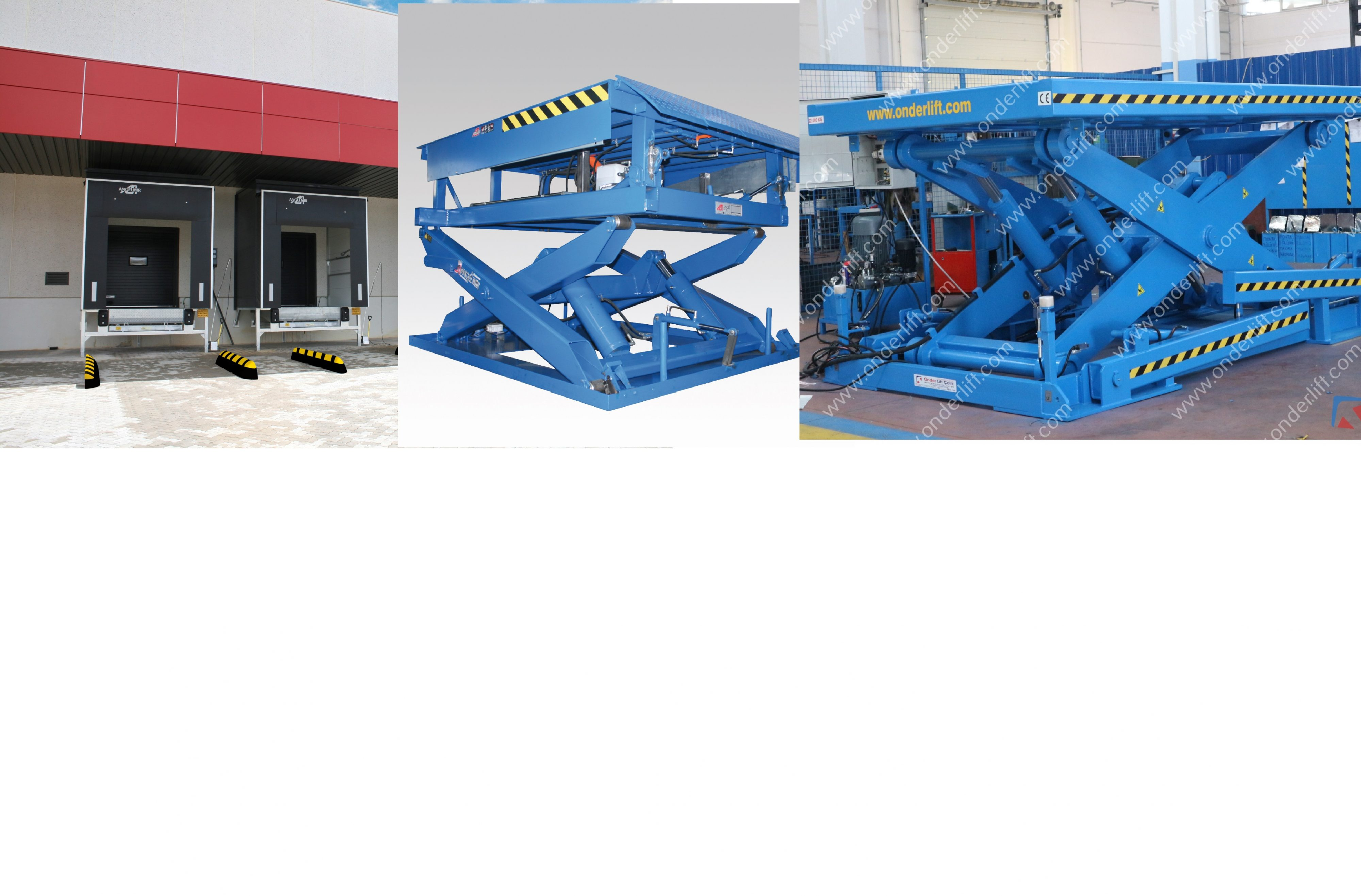 AngelMir lifting tables and loading docks and industrial doors