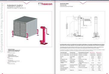 Haacon 8251.10 nostotunkit