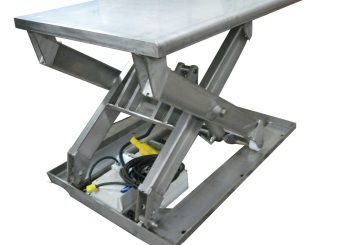 stainless steel single lift table
